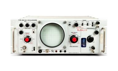 View 1. Thumbnail of Lot 30. Oscilloscope Telemetry Control Panel.
