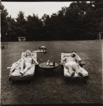 DIANE ARBUS | 'A FAMILY ON THEIR LAWN ONE SUNDAY IN WESTCHESTER, N. Y.'
