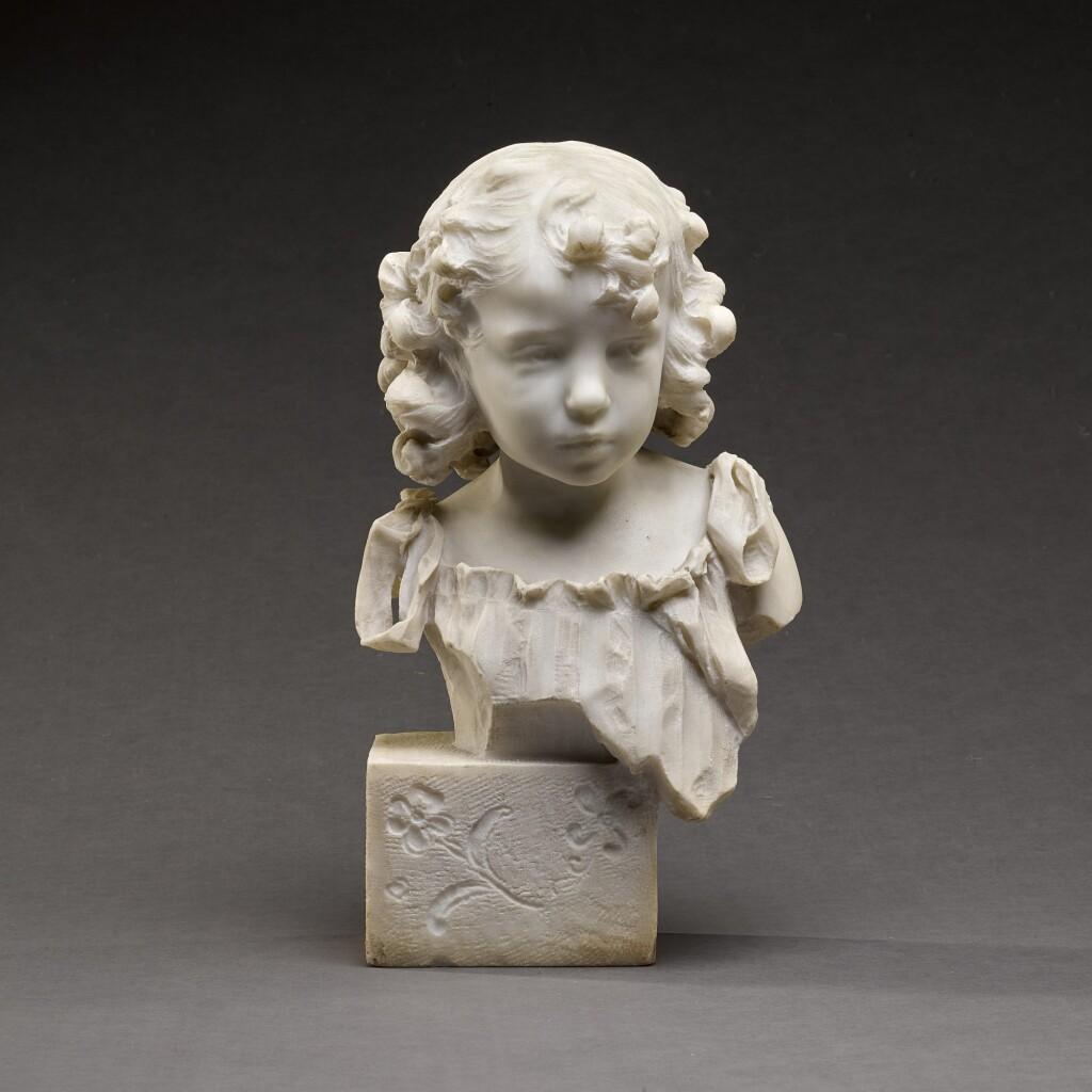 ALFONSO MAZZUCCHELLI | BUST OF A YOUNG GIRL