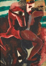 FOUAD KAMEL | UNTITLED (WOMAN WITH A HORSE)