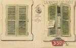 BOTTINI. Dessins originaux pour illustrer La Maison Philibert de J. Lorrain. 108 dessins. Reliure Meunier