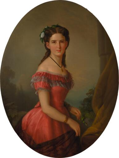 THEODOR TIVADAR BOEMM | FREIFRAU HERMINA ROZÁLIA EMILIA VON PROBSTNER NÉE PRIHRADNY (1839-1918)