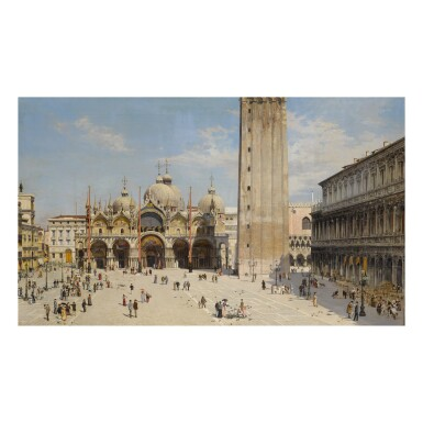 Venice: A View of the Piazza San Marco