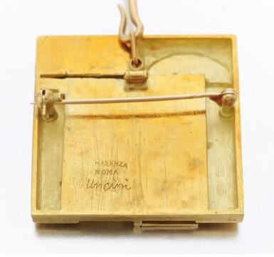 View 5. Thumbnail of Lot 124. Diamond necklace, Dimora (Collana con diamanti, Dimora).