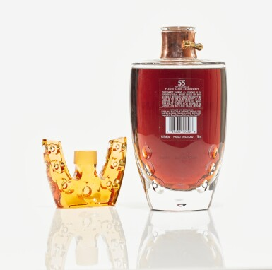 View 3. Thumbnail of Lot 14. The Macallan 55 Year Old in Lalique, 6 Pillars, Second Edition, 40.1 abv NV (1 BT75cl).