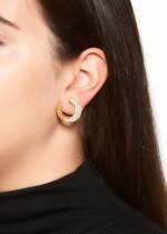 PAIR OF DIAMOND EAR CLIPS, VAN CLEEF & ARPELS