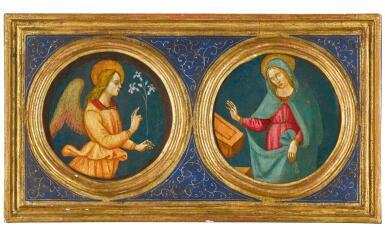 MASTER OF MARRADI | TheMadonna Annunciate; The Angel Gabriel