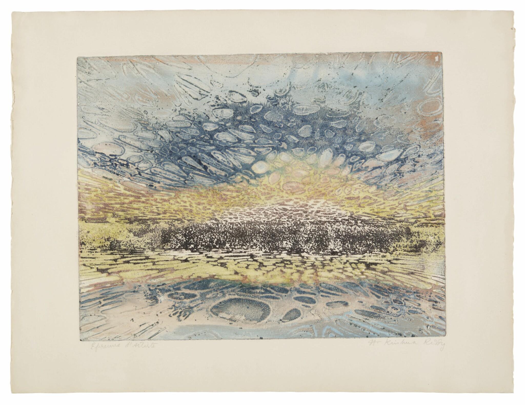 View full screen - View 1 of Lot 1838. KRISHNA REDDY | PASTORALE.