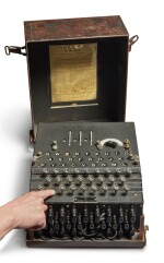 A Fully Operational Enigma I in Original Condition