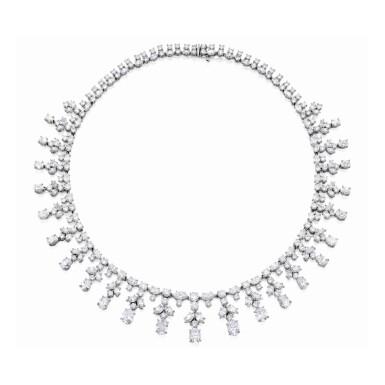 View 1. Thumbnail of Lot 11. Harry Winston [海瑞溫斯頓] | Diamond Necklace [鑽石項鏈].