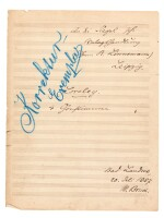 "M. Bruch. Collection of manuscripts of the opera ""Die Loreley"" op.16, some corrected by the composer, 1863-1916"