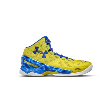 View 5. Thumbnail of Lot 801. Under Armour Stephen Curry Game Worn Dual Signed Curry 2.