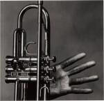 'Miles Davis, Hand and Trumpet, New York'