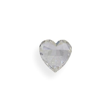 View 5. Thumbnail of Lot 28. A 1.07 Carat Heart-Shaped Diamond, H Color, SI2 Clarity.