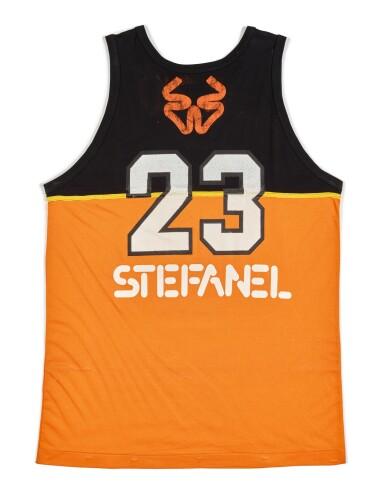 Michael Jordan 'Shattered Backboard' Game Worn and Signed Stefanel Trieste Jersey
