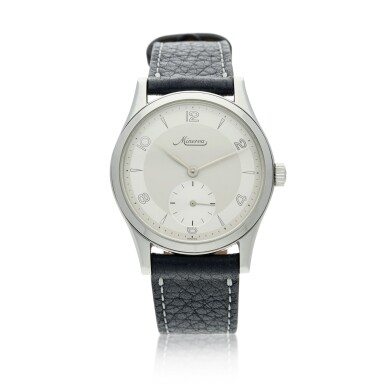 View 1. Thumbnail of Lot 115. Reference 48772 A stainless steel wristwatch, Circa 1997.