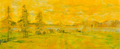 NIKOLAI MIKHAILOVICH ROMADIN | Northern Spring