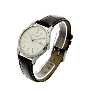 View 2. Thumbnail of Lot 84. IWC | A STAINLESS STEEL CENTER SECONDS WRISTWATCH, CIRCA 1975.