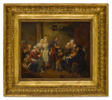 View 3. Thumbnail of Lot 85. The Marriage Contract.