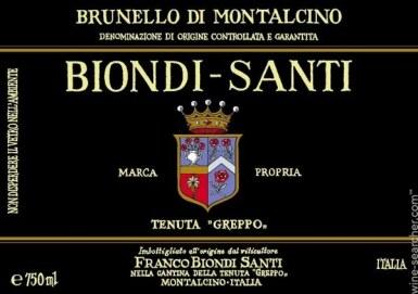 View 1. Thumbnail of Lot 126. Brunello di Montalcino, Tenuta Greppo Riserva 1999 Biondi-Santi (2 BT).