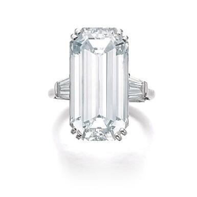 View 1. Thumbnail of Lot 200. HARRY WINSTON [海瑞溫斯頓]   FINE DIAMOND RING, 1968 [鑽石戒指,1968年].