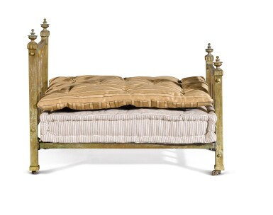View 4. Thumbnail of Lot 4. A VICTORIAN BRASS 'DOG BED', LATE 19TH /EARLY 20TH CENTURY.