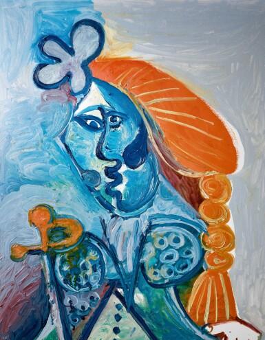 View 2. Thumbnail of Lot 8005. Pablo Picasso 巴布羅・畢加索 | Buste de matador 鬥牛士.