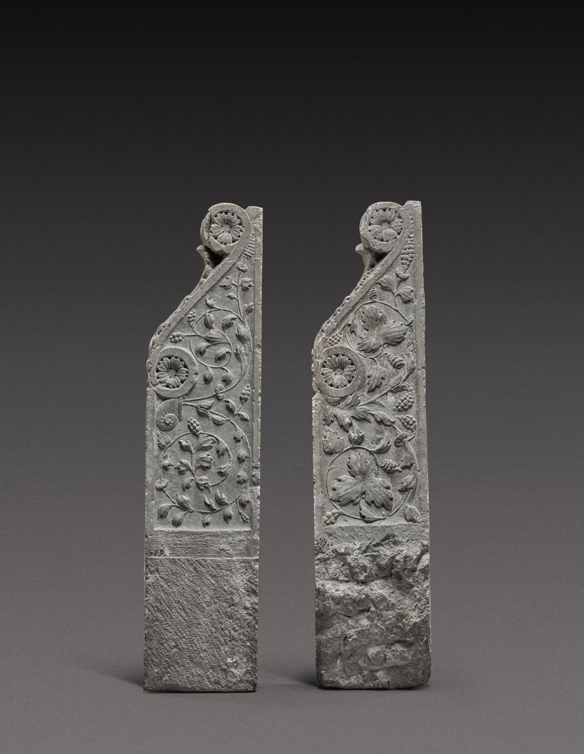 View full screen - View 1 of Lot 128. Italian, Tuscany, 16th century | Pair of Architectural Brackets.