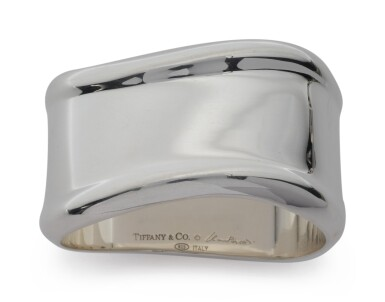 View 3. Thumbnail of Lot 257. A SET OF TWELVE SILVER NAPKIN RINGS, DESIGNED BY ELSA PERETTI FOR TIFFANY & CO., NEW YORK, LATE 20TH CENTURY.
