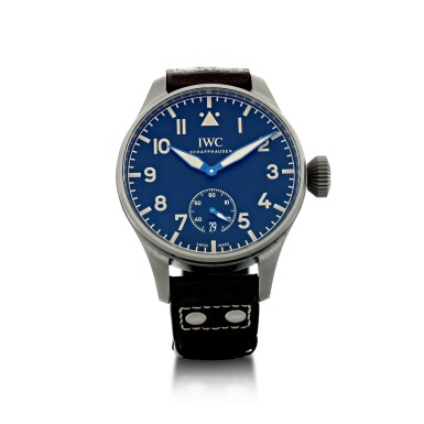 View 1. Thumbnail of Lot 90. IWC | REFERENCE IW510301 BIG PILOT HERITAGE 48 A LIMITED EDITION TITANIUM WRISTWATCH WITH DATE, CIRCA 2016.