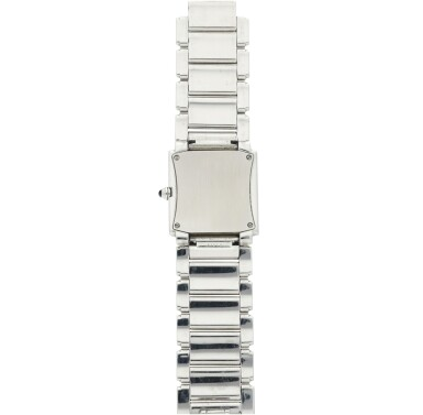 View 5. Thumbnail of Lot 75. REFERENCE 4910/010 TWENTY-4 A STAINLESS STEEL AND DIAMOND-SET BRACELET WATCH, MADE IN 2001.