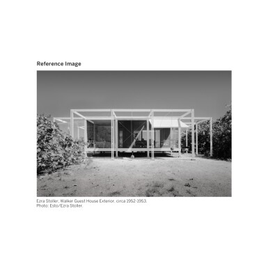 View 6. Thumbnail of Lot 343. PAUL RUDOLPH | THE WALKER GUEST HOUSE.