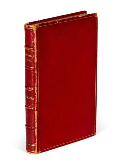 DICKENS   A Christmas Carol, 1844, seventh edition, presentation copy inscribed by the author