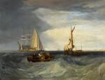 Purfleet and the Essex Shore as seen from Long Reach | 《在朗里奇眺望珀弗利特與埃塞克斯海岸》