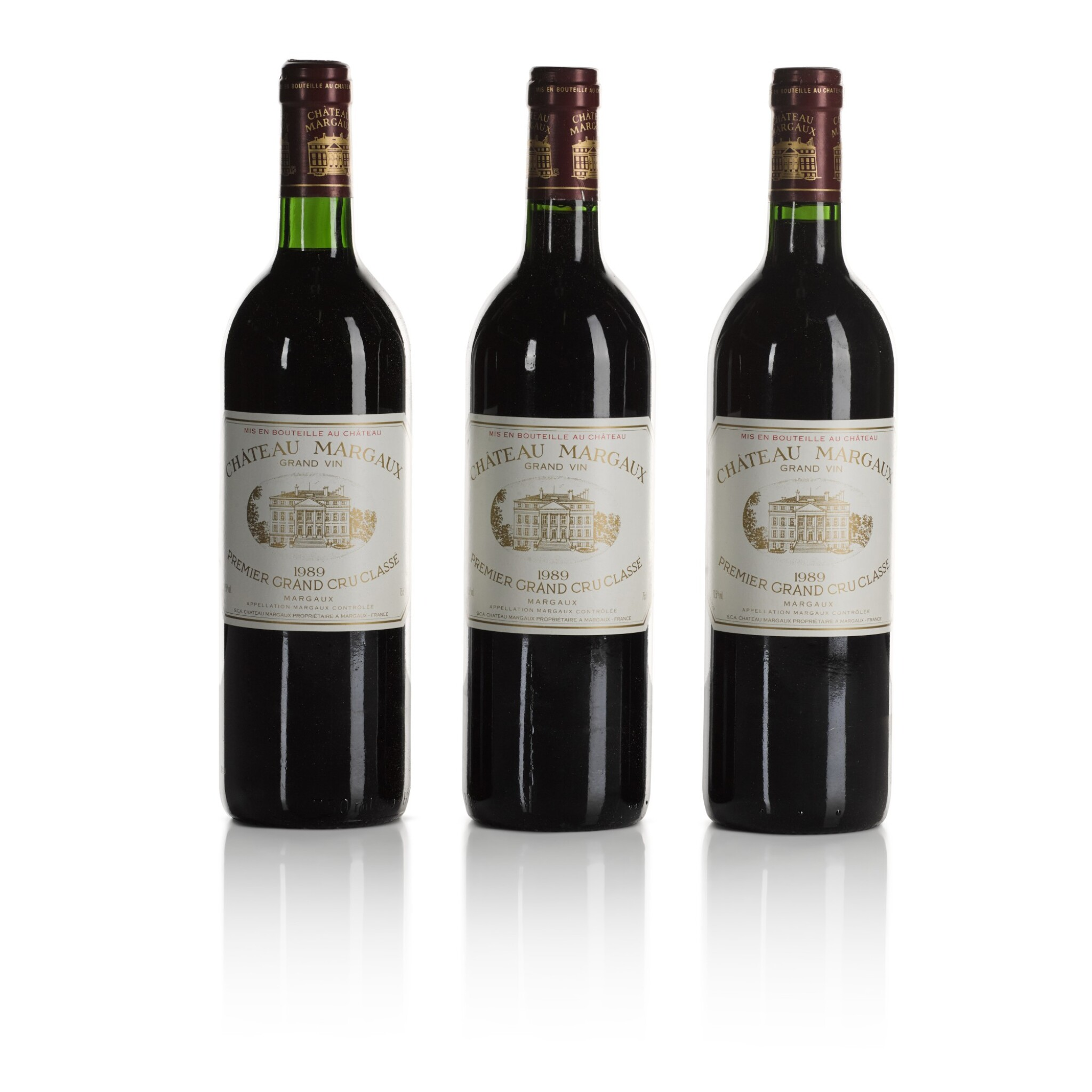 View full screen - View 1 of Lot 268. Château Margaux 1989  (11 BT).