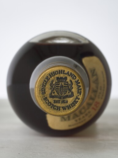 View 3. Thumbnail of Lot 2003. The Macallan 18 Year Old 43.0 abv 1973 (1 BT70).