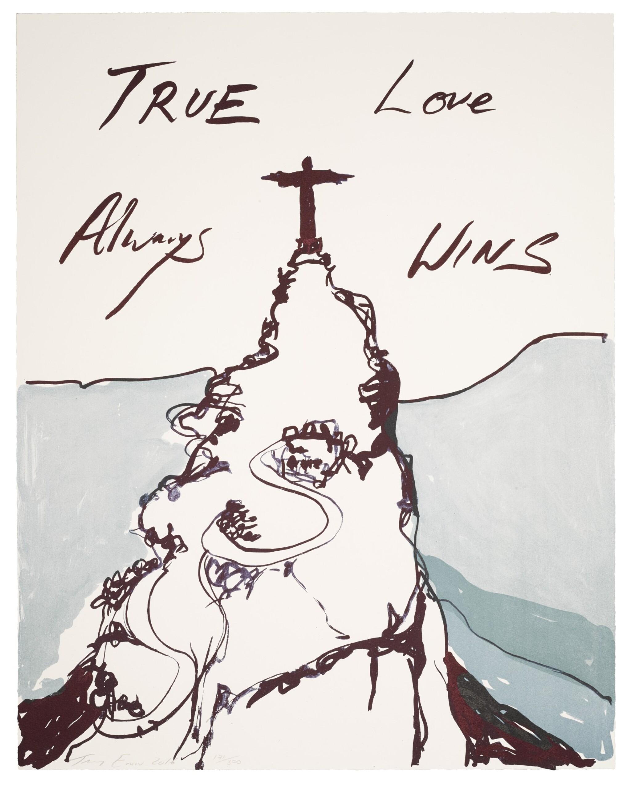 View full screen - View 1 of Lot 335. True Love Always Wins.