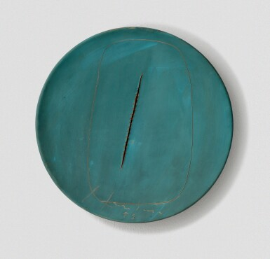 View 1. Thumbnail of Lot 38. LUCIO FONTANA  |  CONCETTO SPAZIALE.