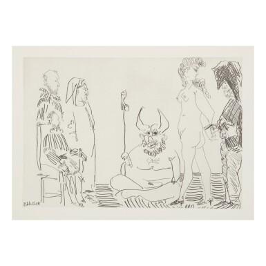 View 9. Thumbnail of Lot 169. PABLO PICASSO | LE COCU MAGNIFIQUE (B. 1244-1255; BA. 1432-1443; C. BKS 140).