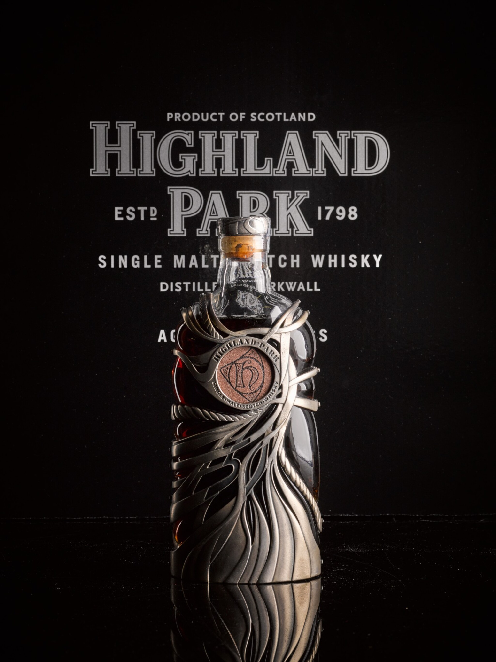 View 1 of Lot 22. Highland Park 50 Year Old 44.8 abv NV .