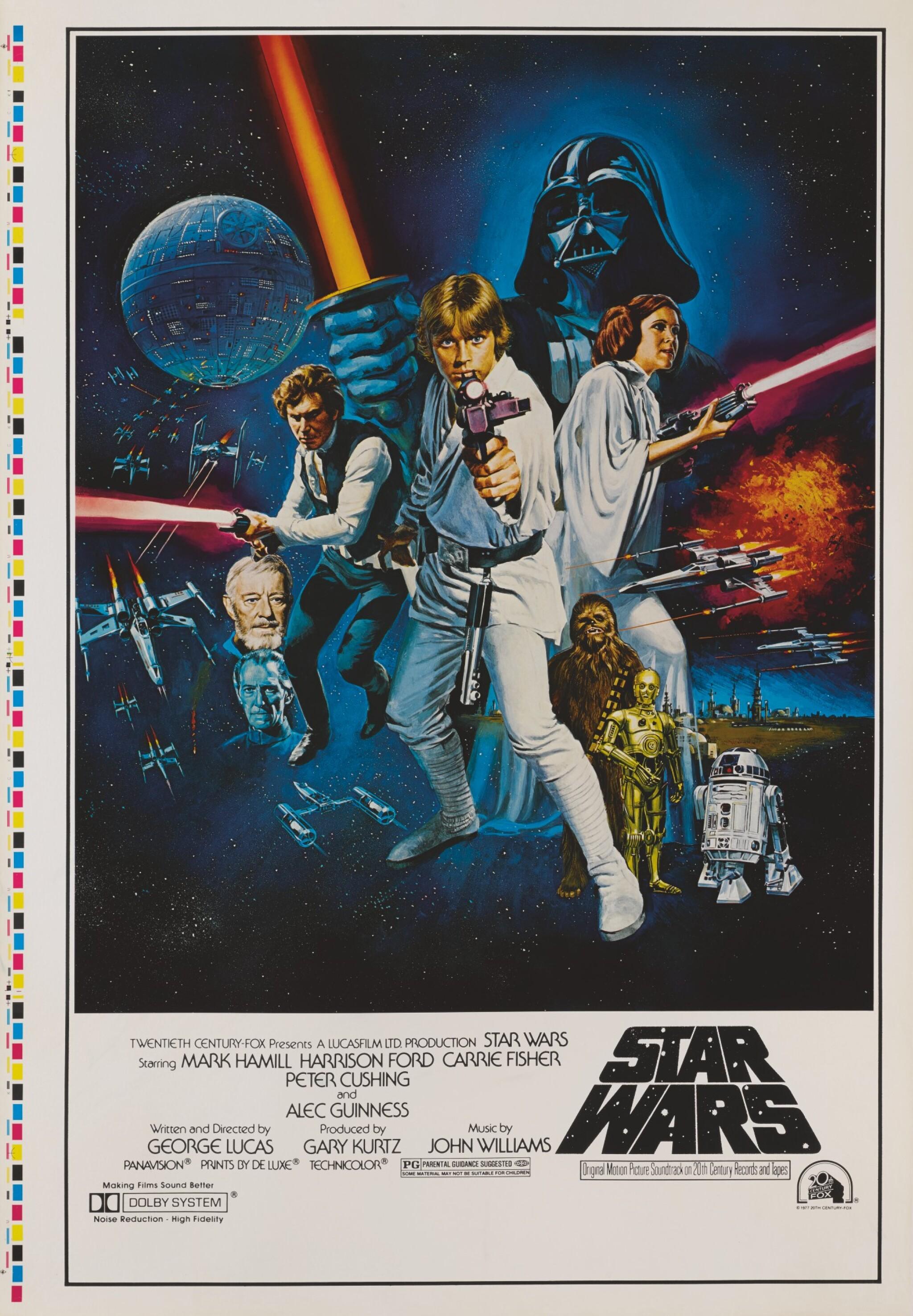 STAR WARS, US STYLE C PRINTER'S PROOF,  TOM WILLIAM CHANTRELL, 1977