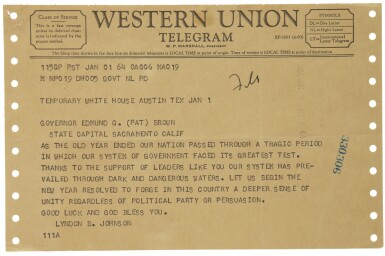 View 4. Thumbnail of Lot 2188. Kennedy, John F. An archive of material pertaining to the assassination of President Kennedy.