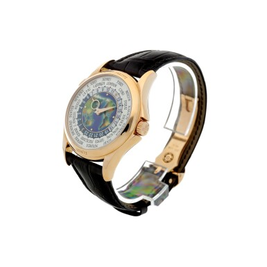 View 2. Thumbnail of Lot 59. REFERENCE 5131R-011 A FINE PINK GOLD AUTOMATIC WORLD TIME WRISTWATCH WITH CLOISONNE ENAMEL DIAL, CIRCA 2017.