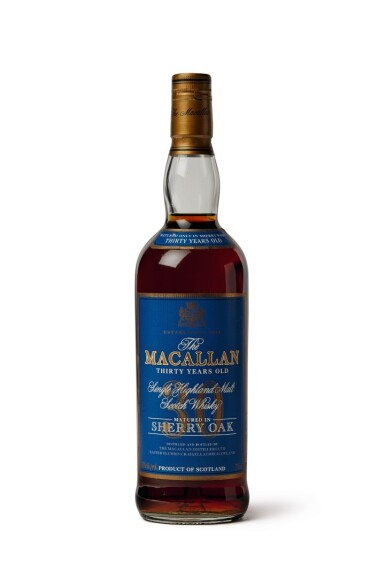 The Macallan, 30 Years Old (Blue Label)