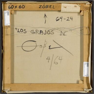 View 5. Thumbnail of Lot 276. FERNANDO ZOBEL 費南度·索培爾 | LOS GRAJOS IV 寒鴉 IV.