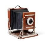 Large format Studio Camera of Paolo Roversi, L.F. Deardroff & Sons Wood Field