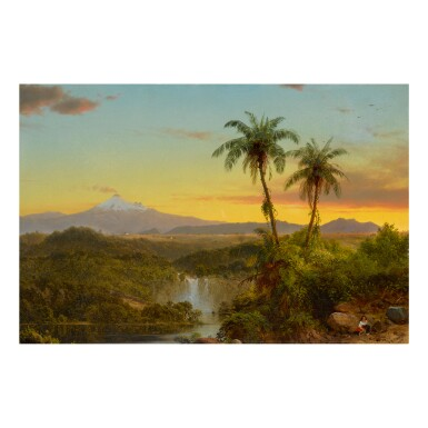 View 1. Thumbnail of Lot 36. FREDERIC EDWIN CHURCH | SOUTH AMERICAN LANDSCAPE.