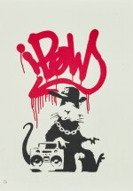 BANKSY | GANGSTA RAT