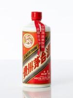 """""""大飛天""""貴州茅台酒Kweichow Flying Fairy Moutai cira 1975 - 1983 NV  (1 BT54)"""