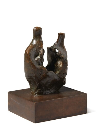 View 2. Thumbnail of Lot 207. HENRY MOORE | MOTHER AND CHILD (BONE).